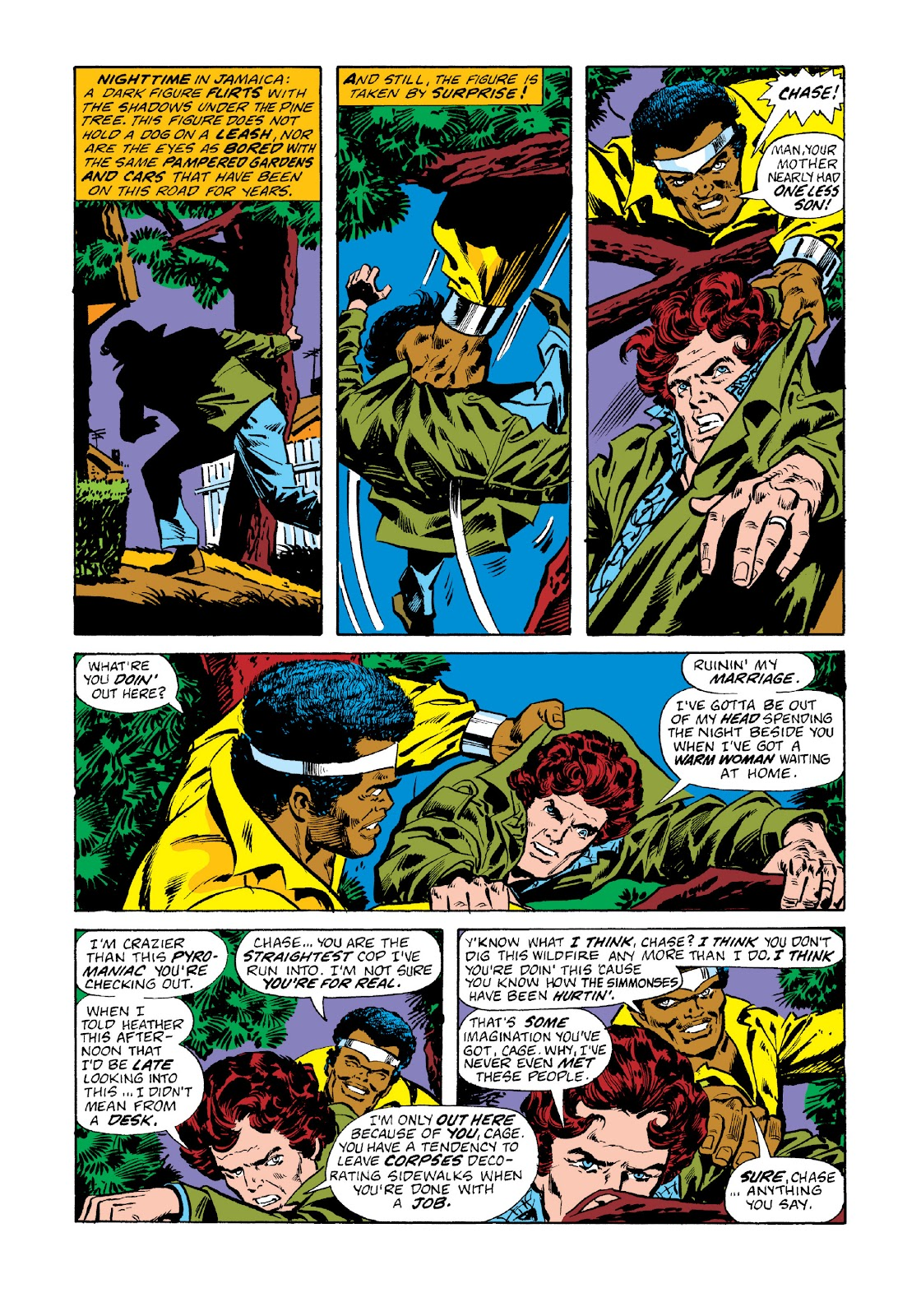 Read online Marvel Masterworks: Luke Cage, Power Man comic -  Issue # TPB 3 (Part 1) - 20