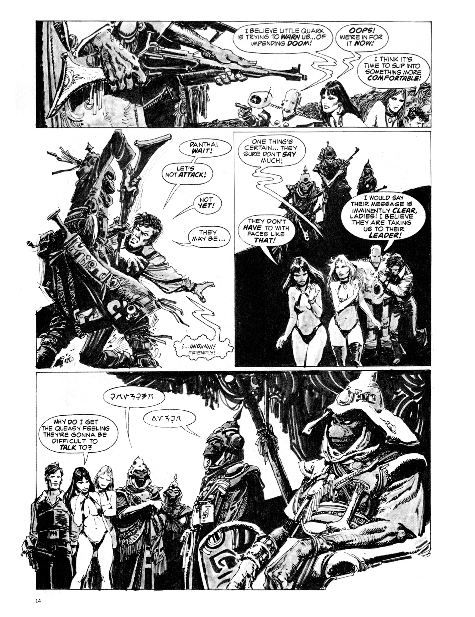 Read online Eerie Archives comic -  Issue # TPB 20 - 14