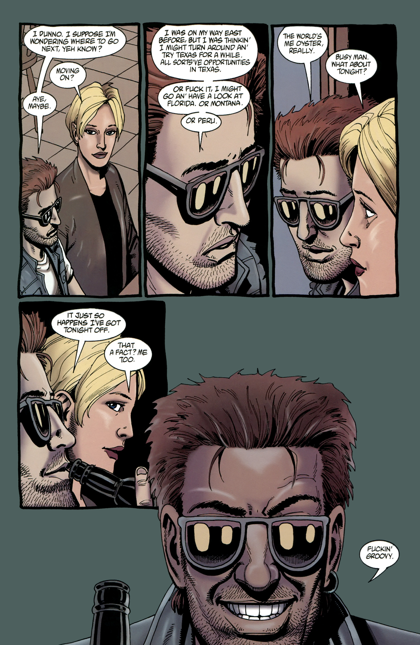 Read online Preacher Special: Cassidy : Blood and Whiskey comic -  Issue # Full - 50
