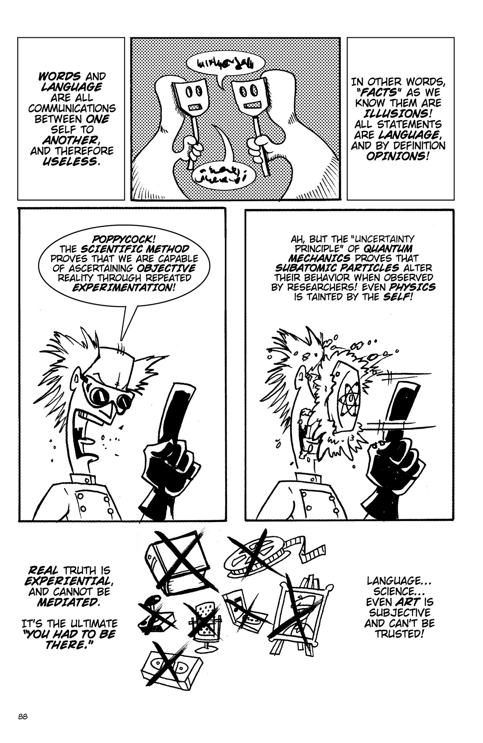 Read online Action Philosophers! comic -  Issue #Action Philosophers! TPB (Part 1) - 88