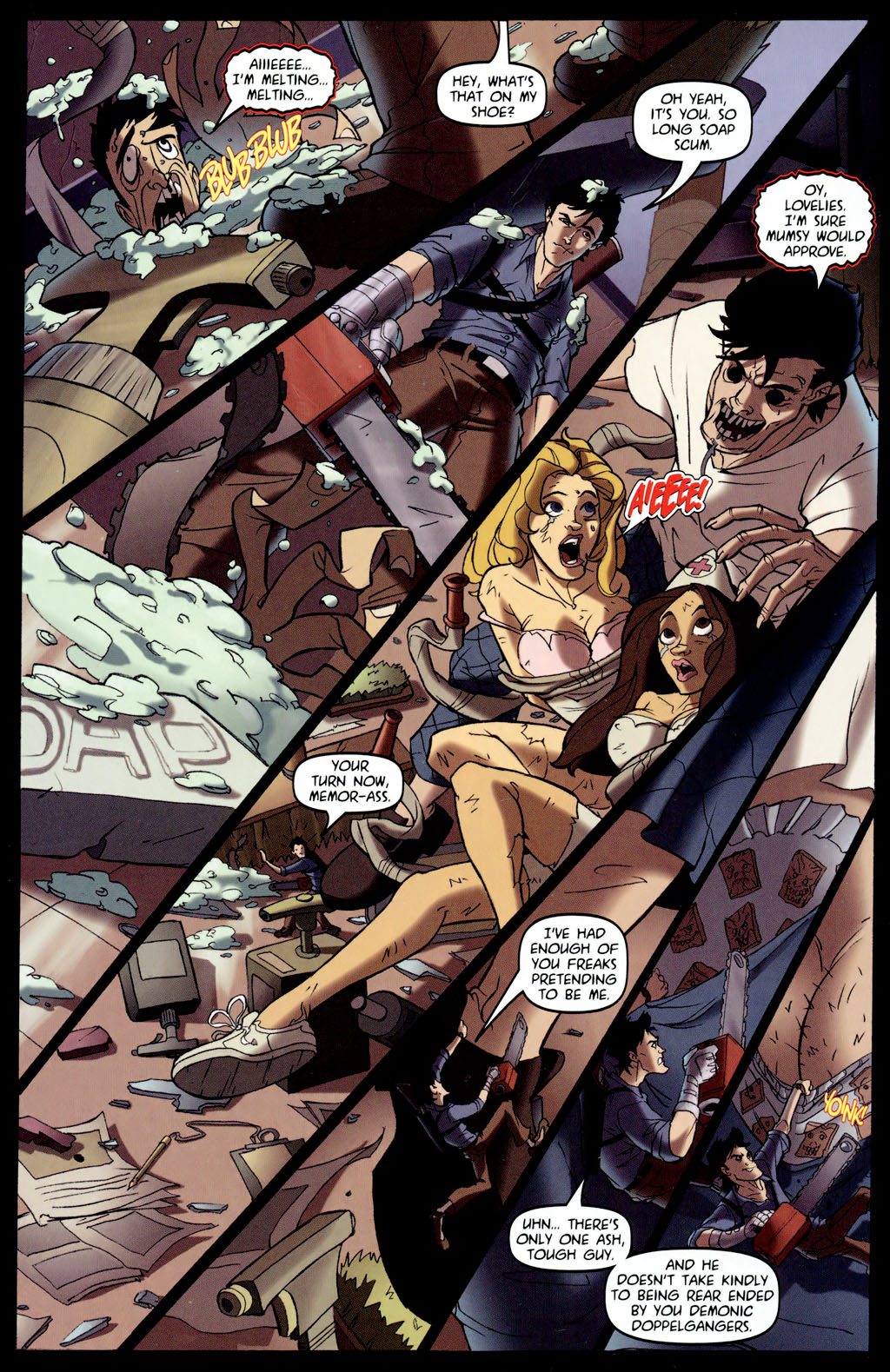 Read online Army of Darkness vs. Re-Animator comic -  Issue #4 - 7