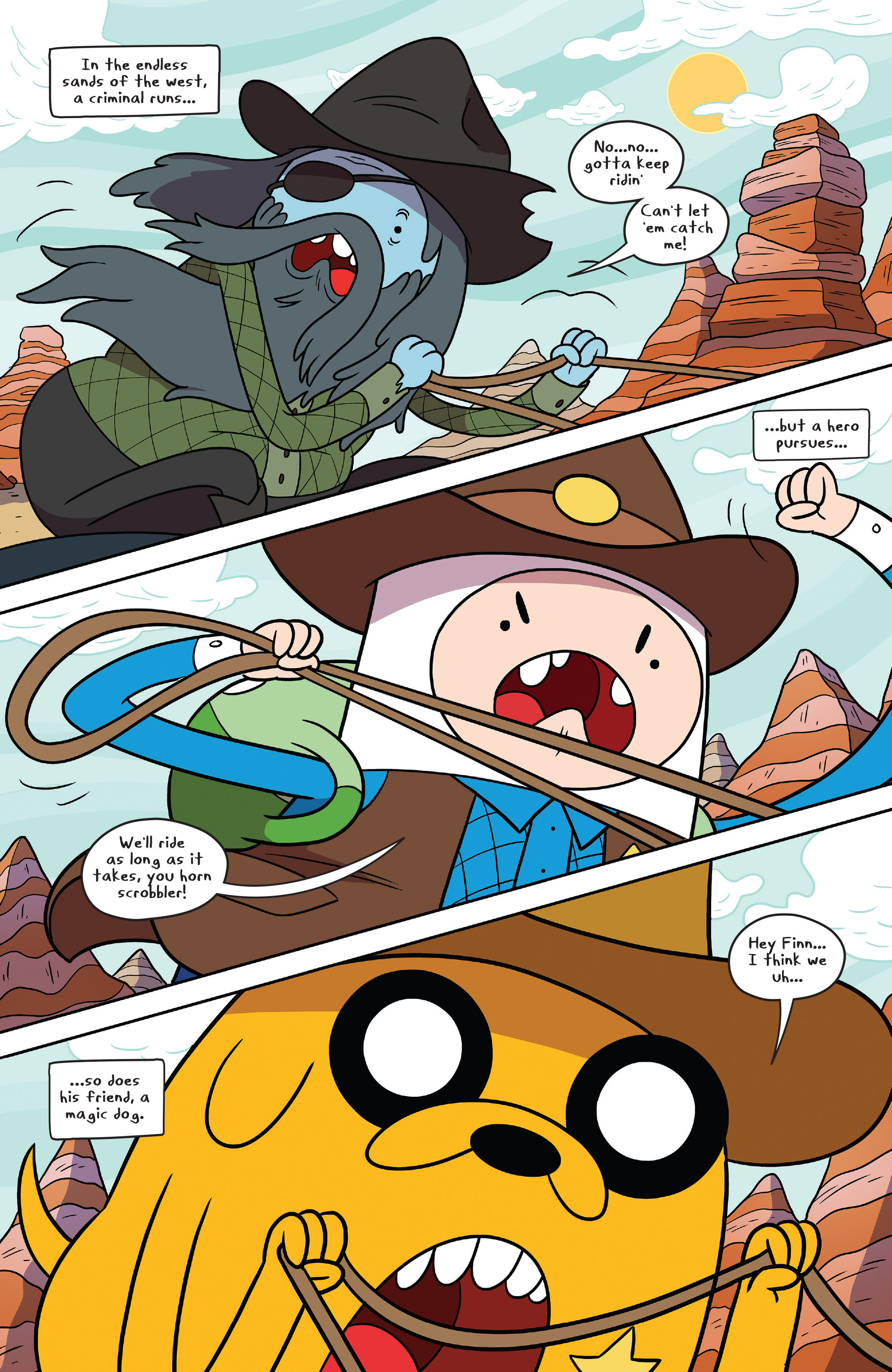Read online Adventure Time comic -  Issue #54 - 3
