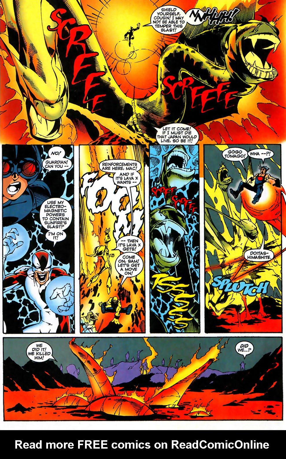 Read online Alpha Flight (1997) comic -  Issue #17 - 22