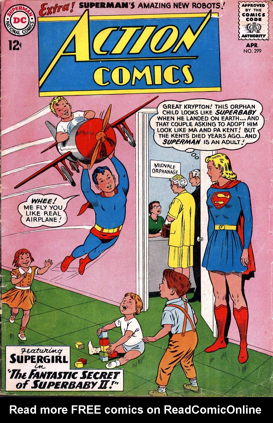 Read online Action Comics (1938) comic -  Issue #299 - 1