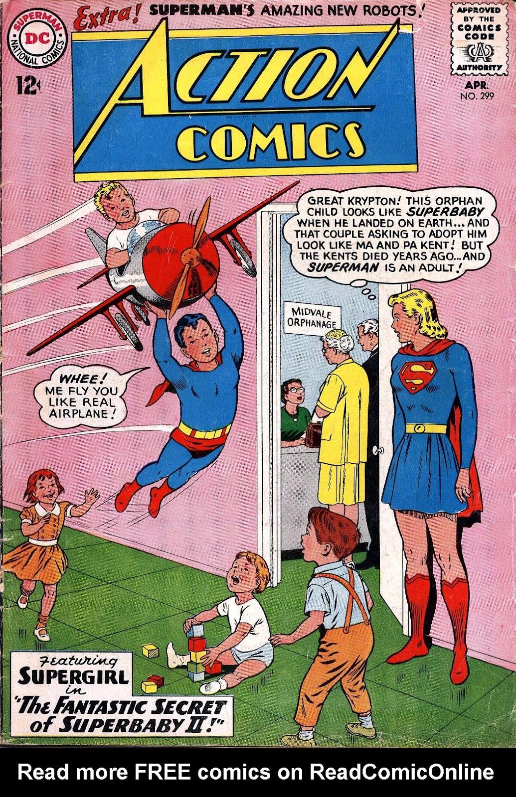Action Comics (1938) 299 Page 1