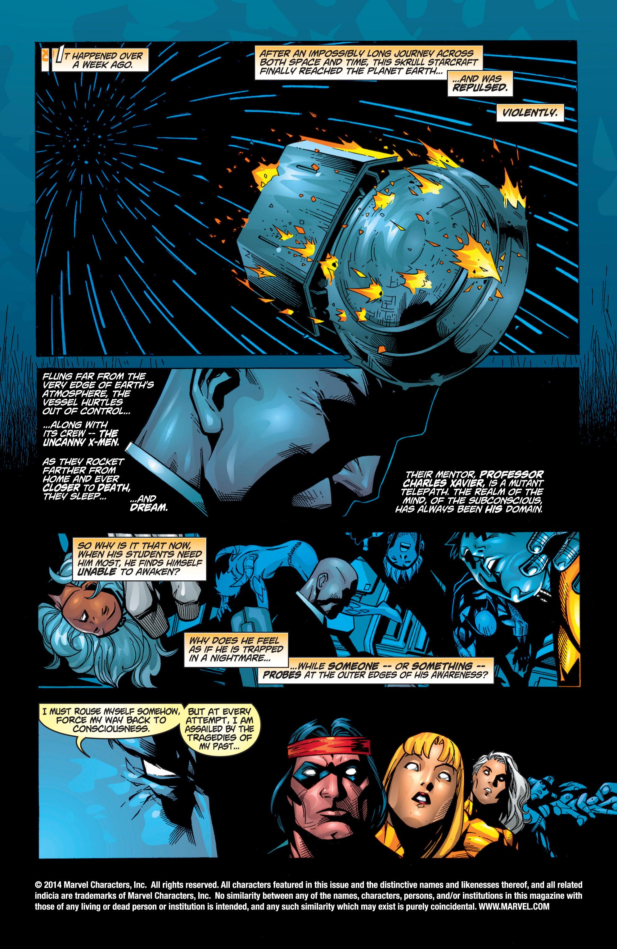 Read online Uncanny X-Men (1963) comic -  Issue #371 - 2