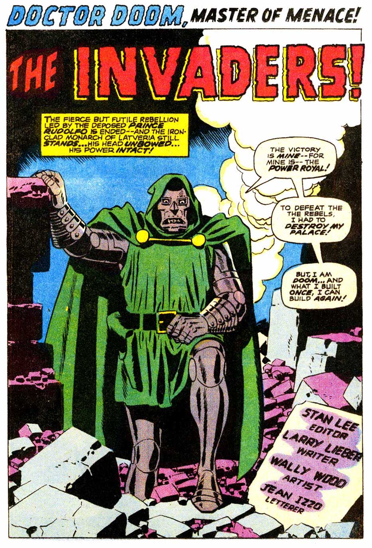Read online Astonishing Tales (1970) comic -  Issue #4 - 2