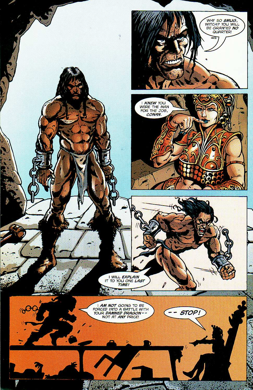 Read online Conan: Return of Styrm comic -  Issue #1 - 23