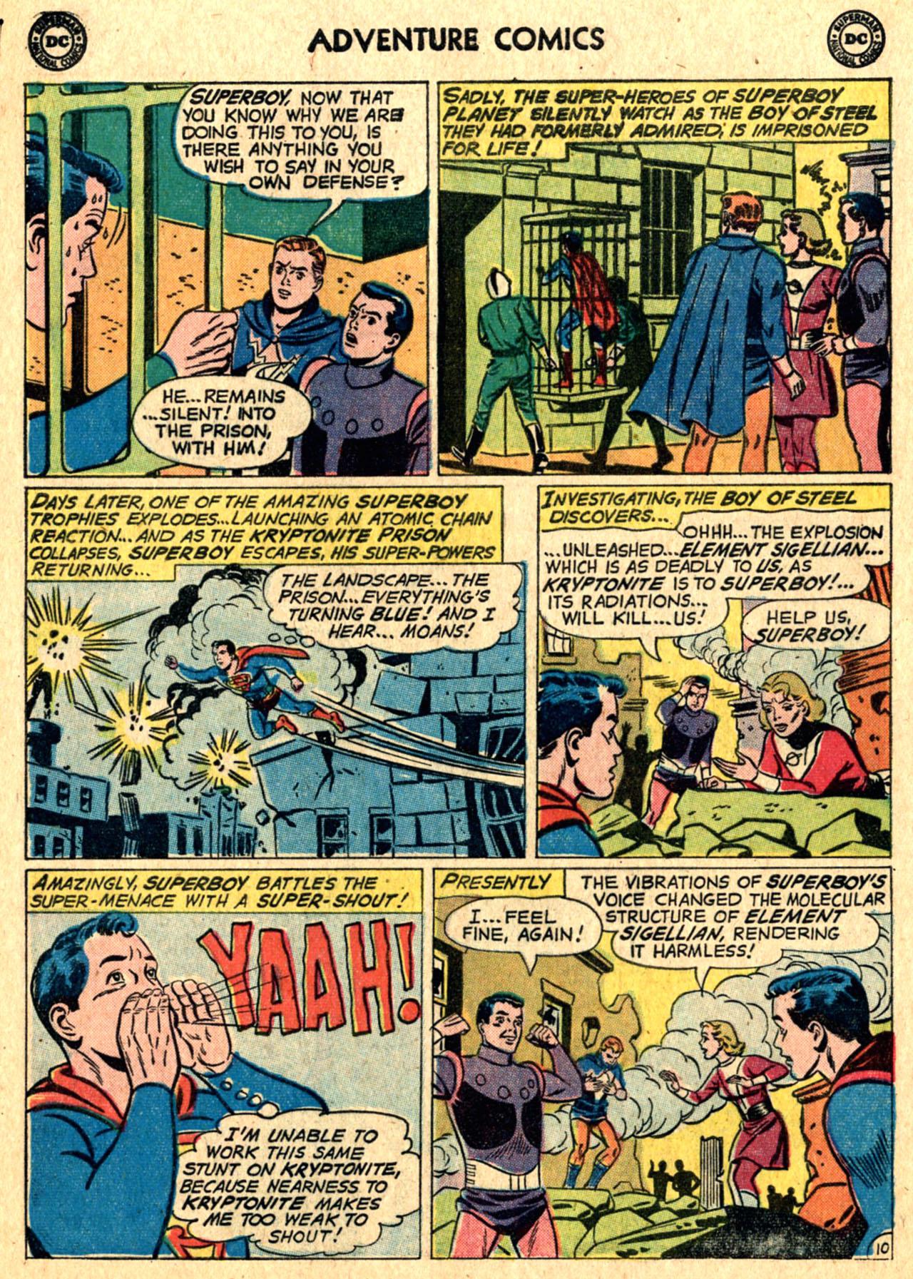 Read online Adventure Comics (1938) comic -  Issue #267 - 12