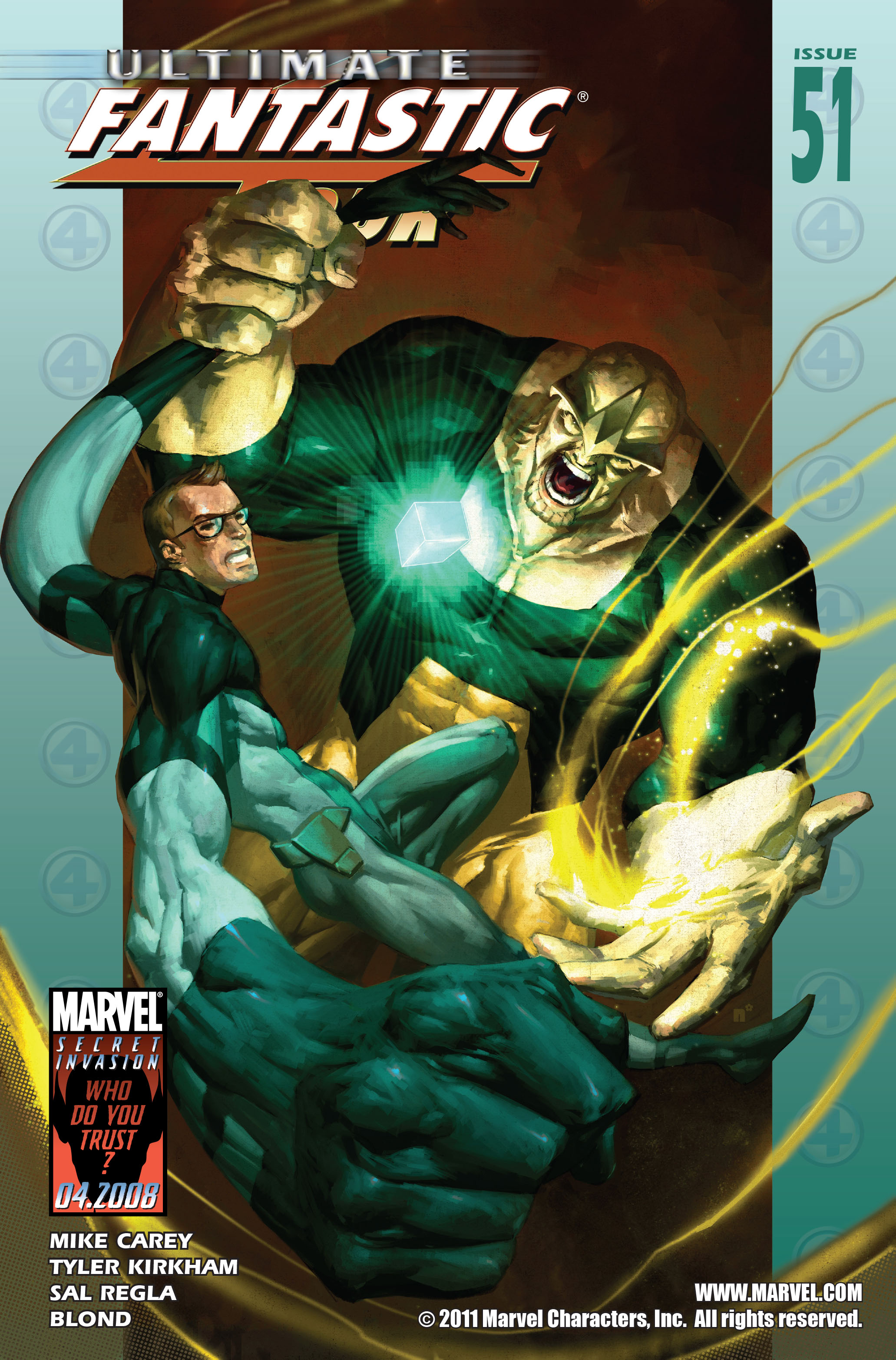 Read online Ultimate Fantastic Four (2004) comic -  Issue #51 - 1
