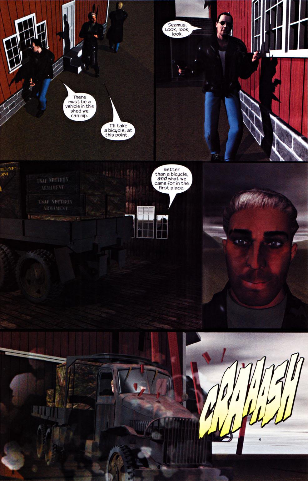 Read online U.S. War Machine 2.0 comic -  Issue #1 - 23