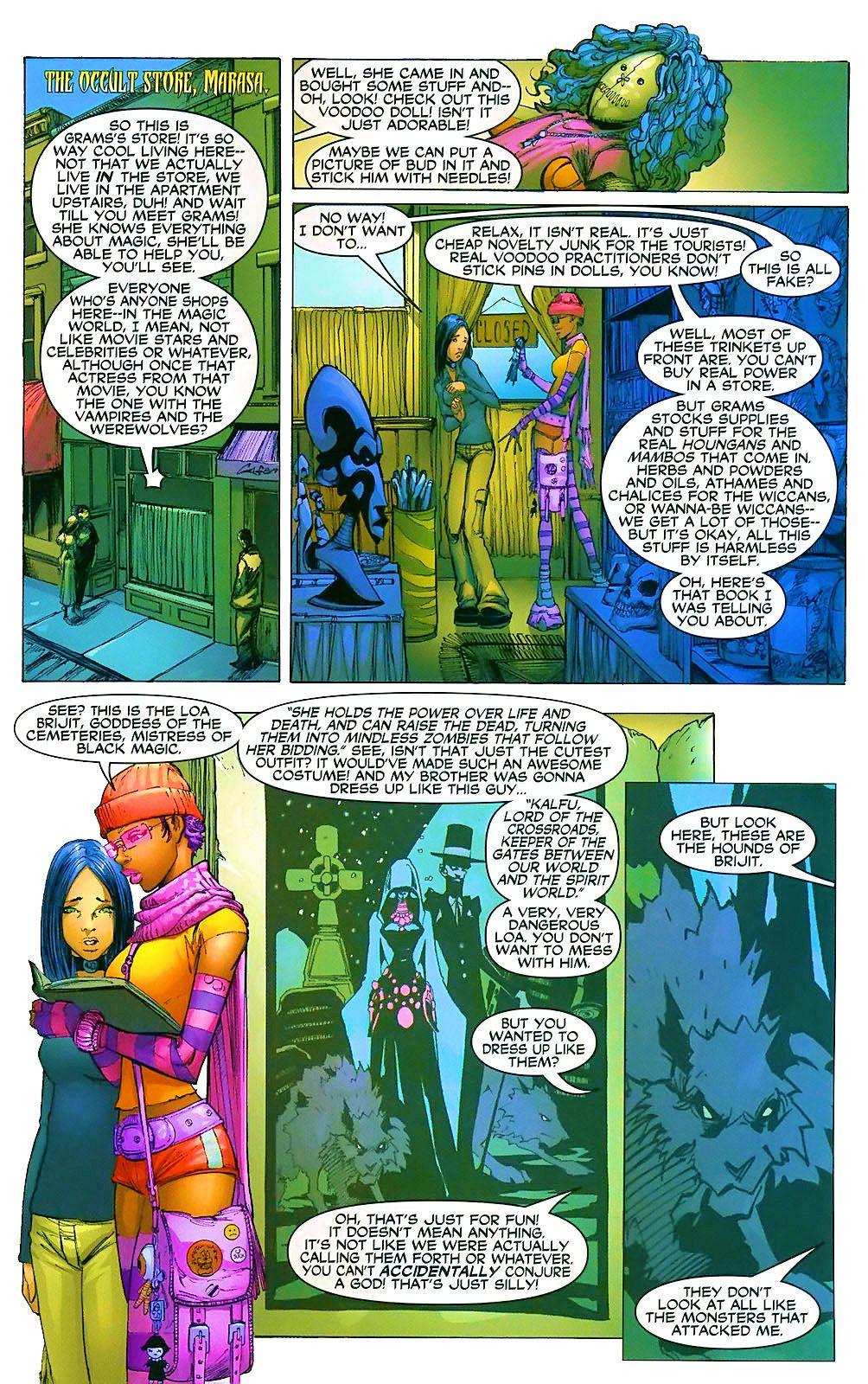 Read online Wraithborn comic -  Issue #4 - 16
