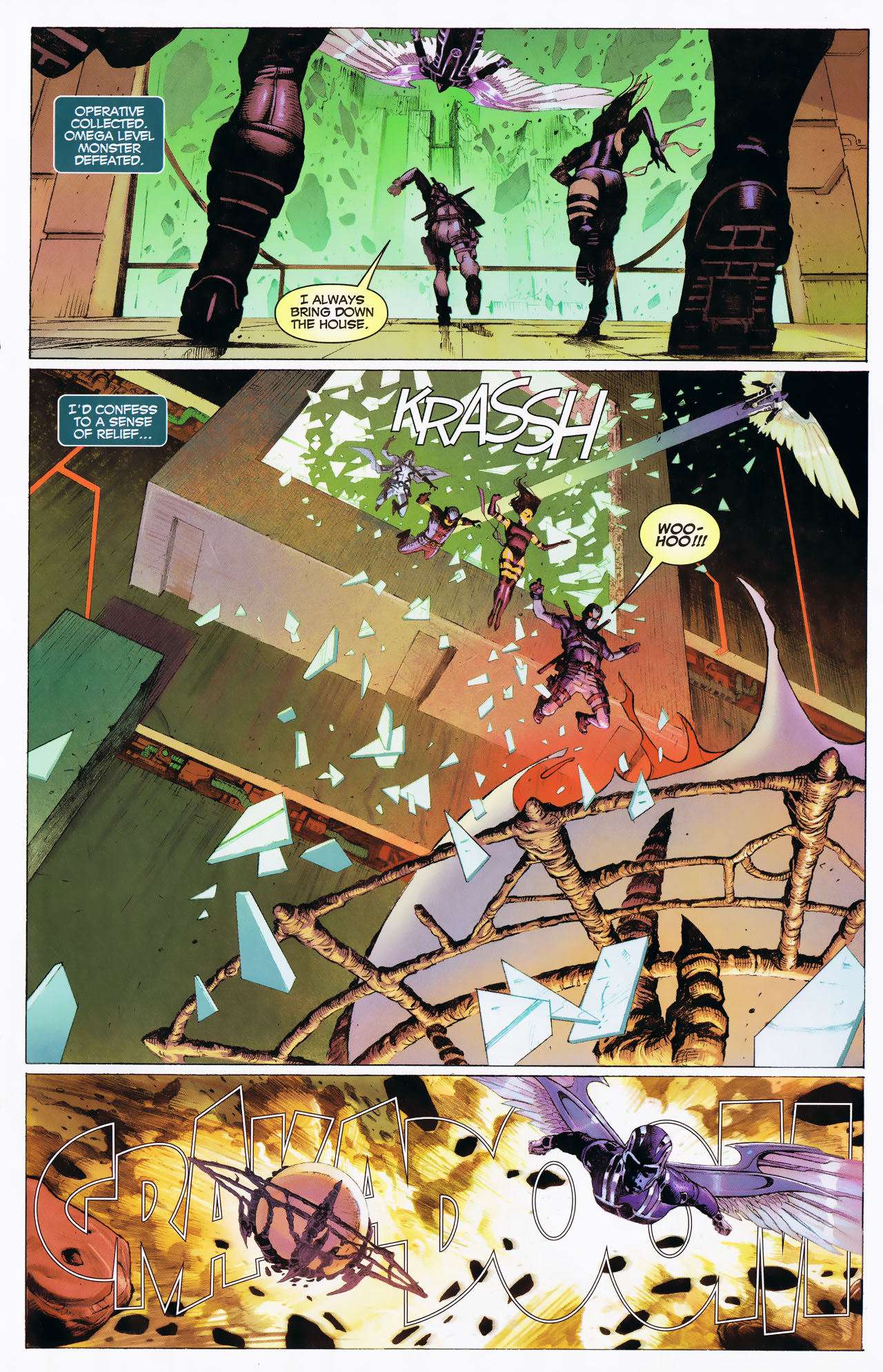 Read online Uncanny X-Force: The Apocalypse Solution comic -  Issue # Full - 25