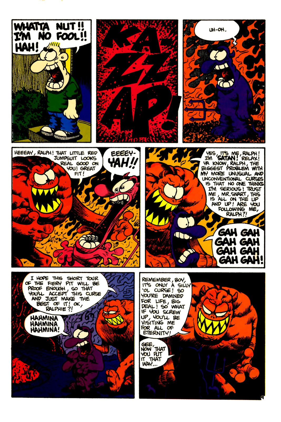 Ralph Snart Adventures (1988) issue 5 - Page 11