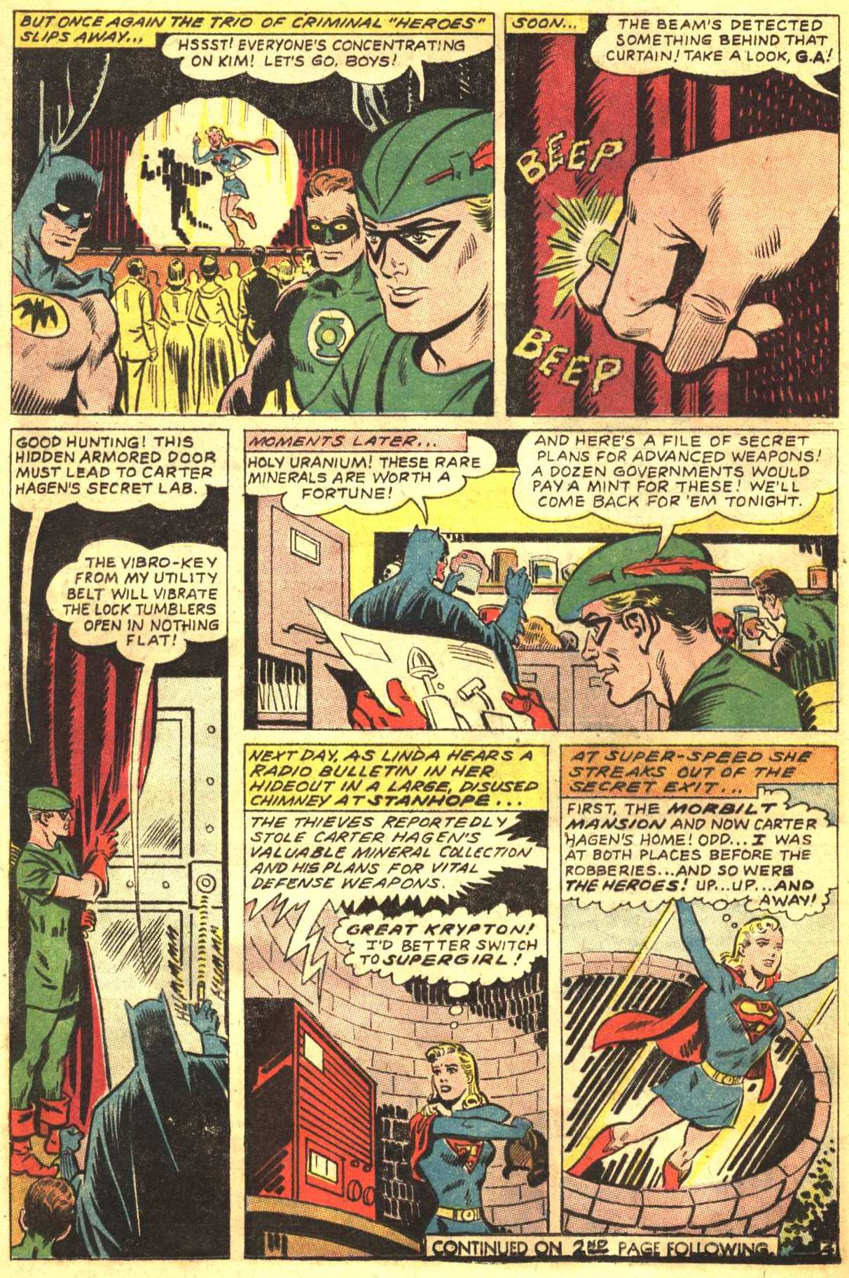 Read online Action Comics (1938) comic -  Issue #350 - 22