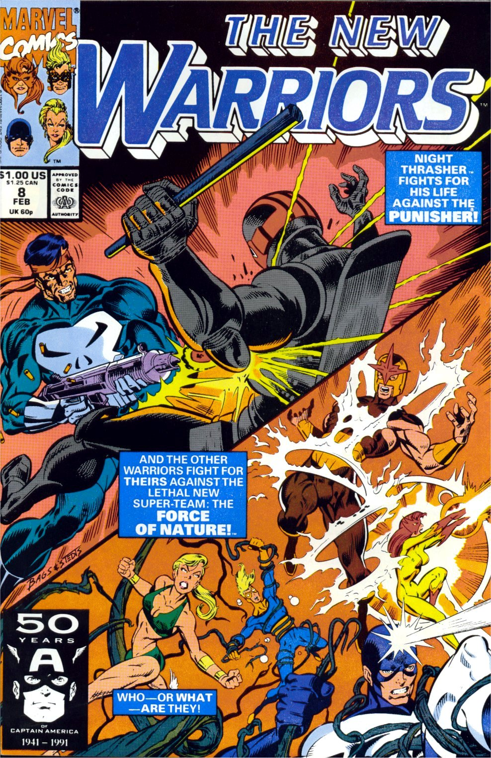 The New Warriors Issue #8 #12 - English 2