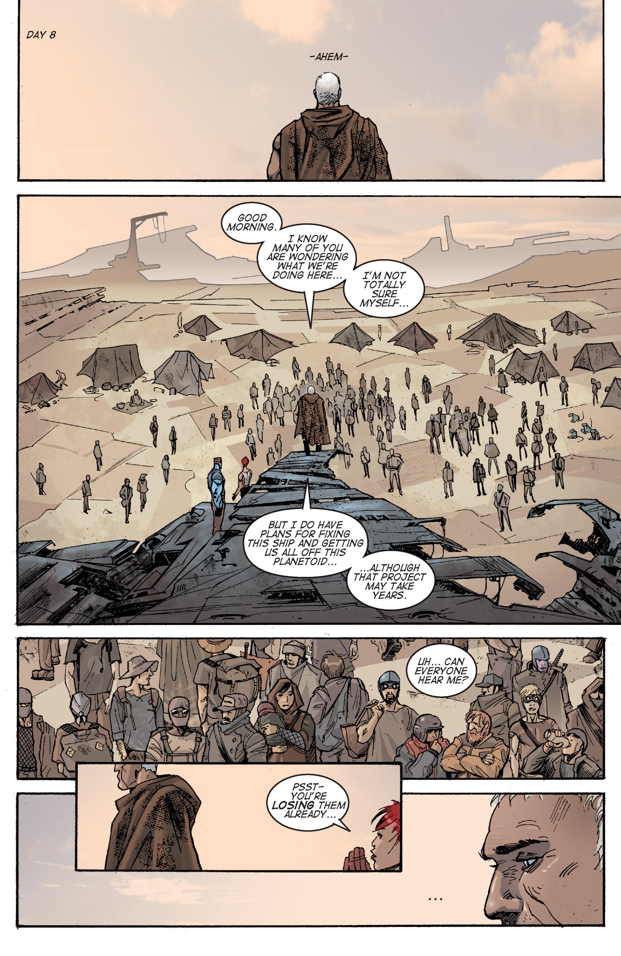 Read online Planetoid comic -  Issue # TPB - 77