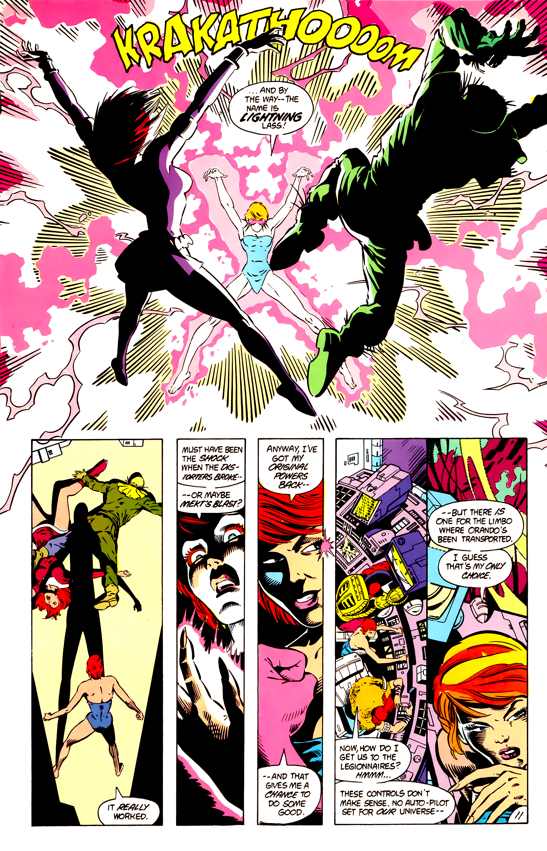 Legion of Super-Heroes (1984) 4 Page 12