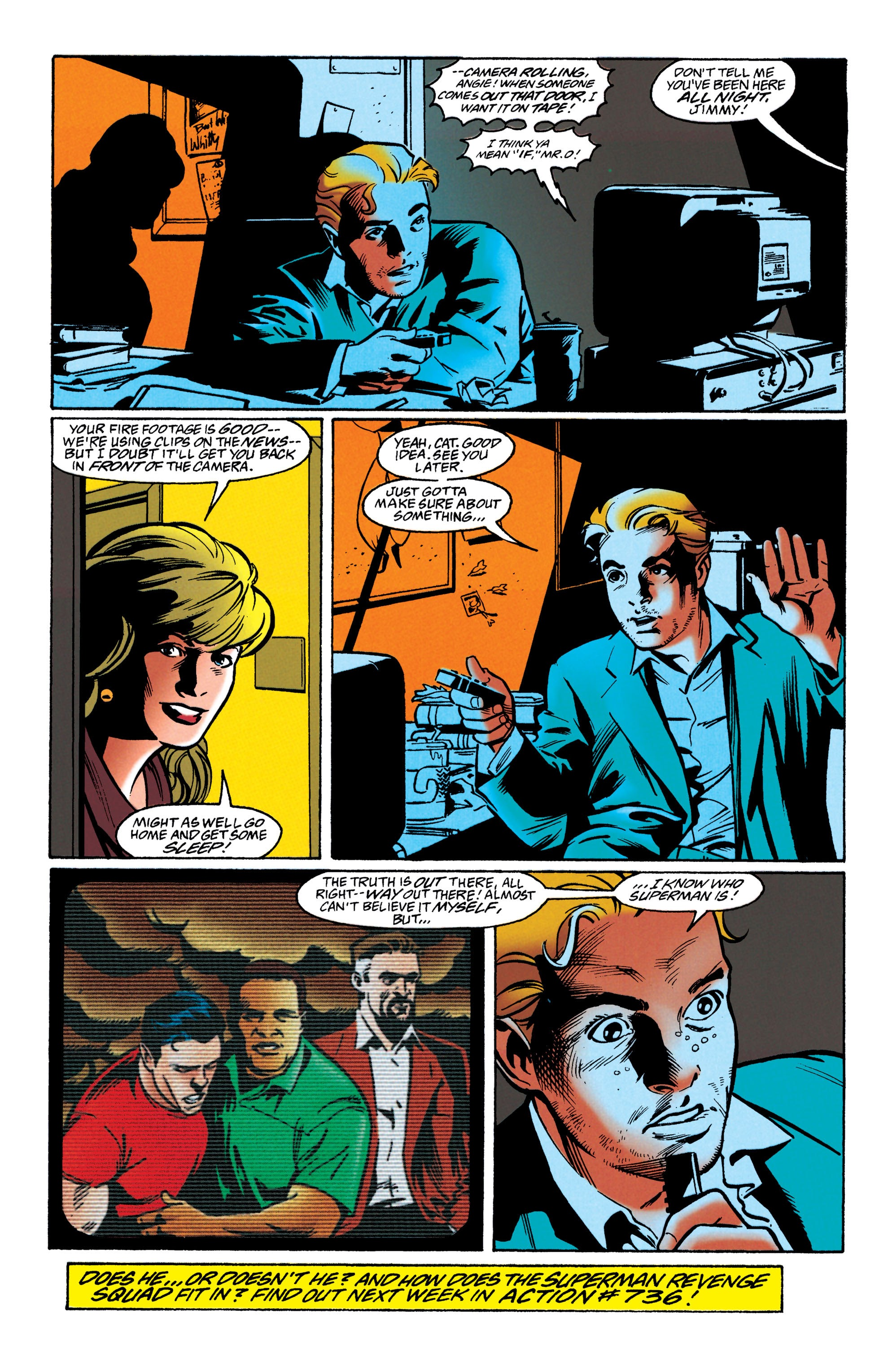 Adventures of Superman (1987) issue 549 - Page 22