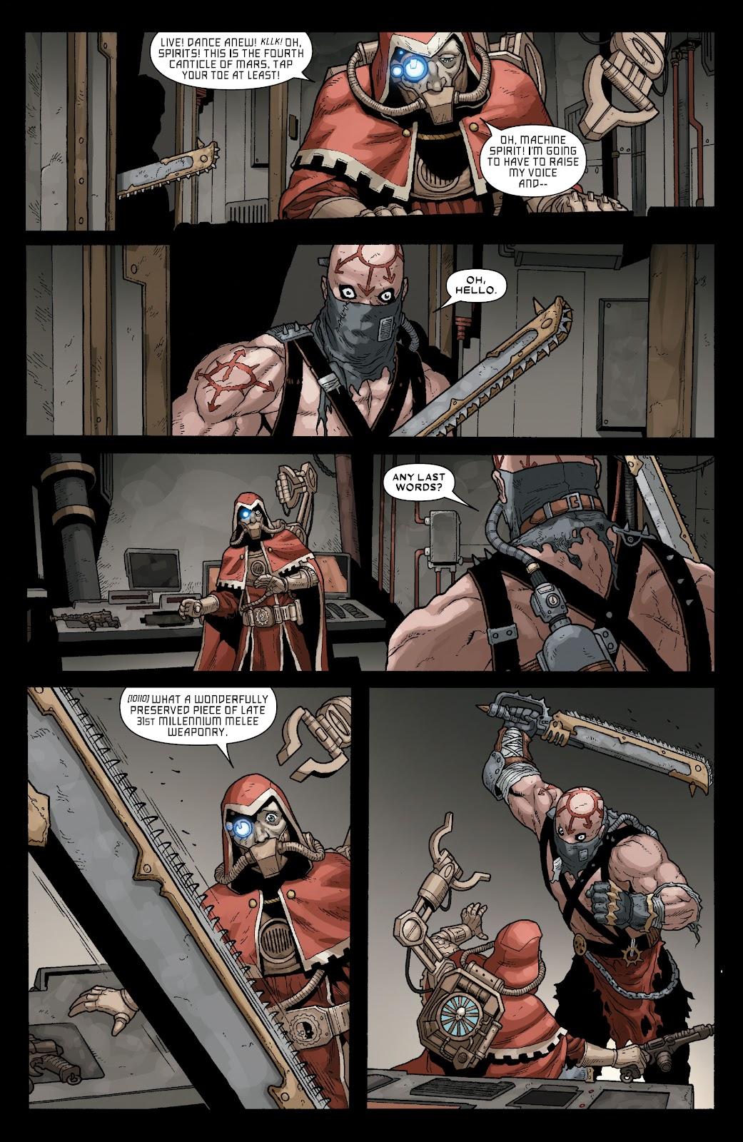 Warhammer 40,000: Marneus Calgar issue 5 - Page 13