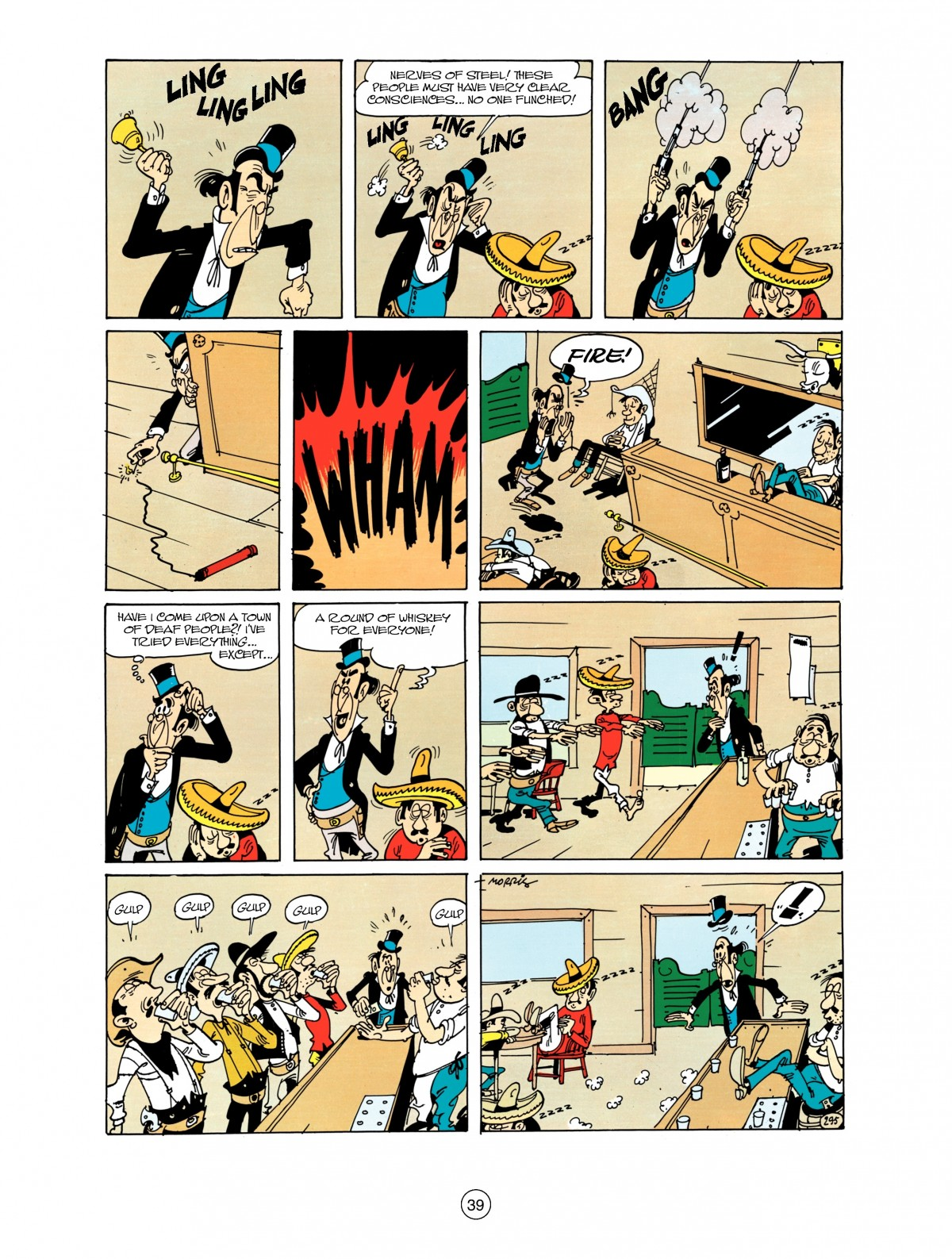 Read online A Lucky Luke Adventure comic -  Issue #38 - 39