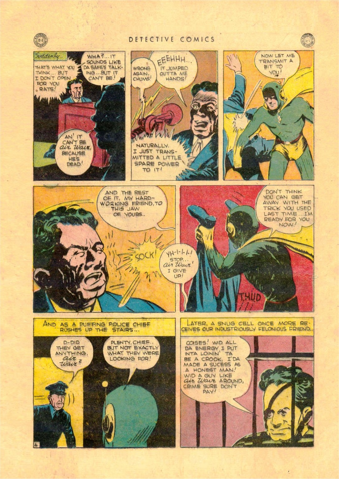 Read online Detective Comics (1937) comic -  Issue #92 - 22