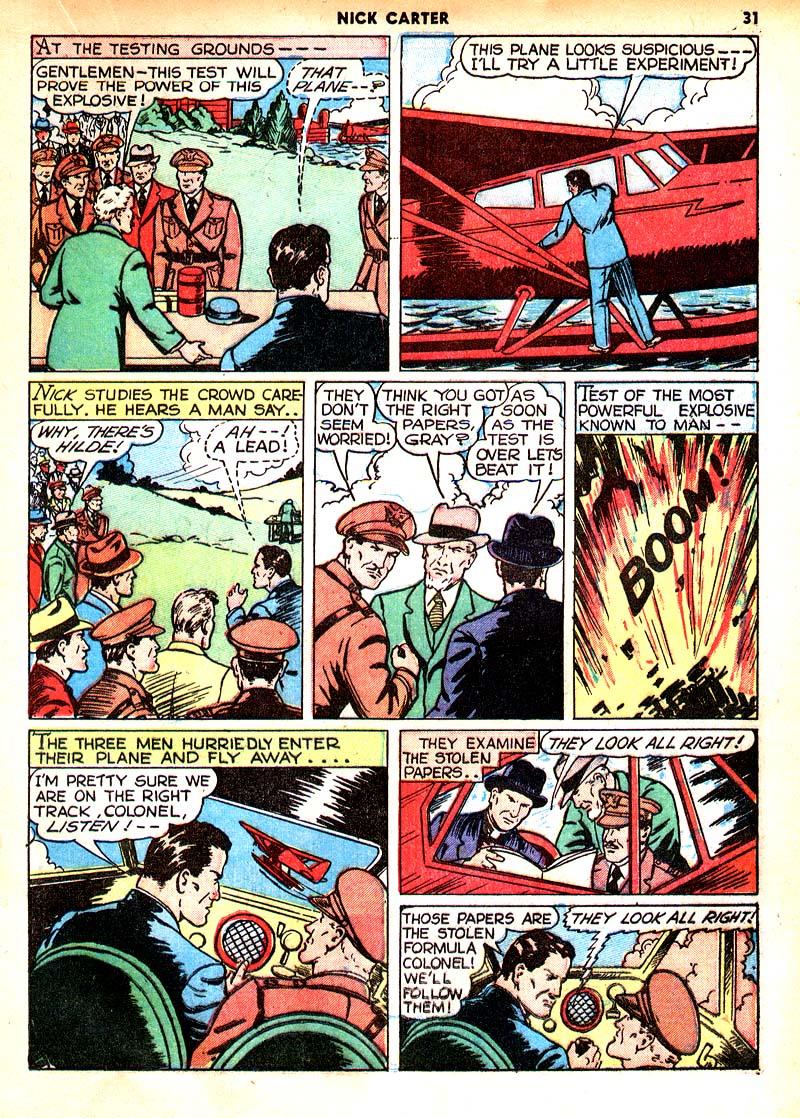 Read online Shadow Comics comic -  Issue #7 - 24