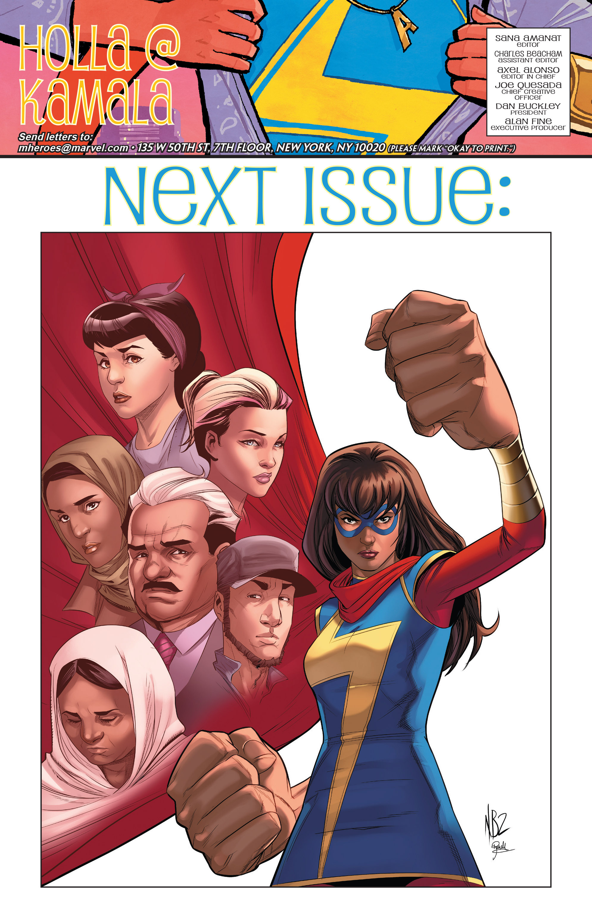Read online Ms. Marvel (2016) comic -  Issue #18 - 23
