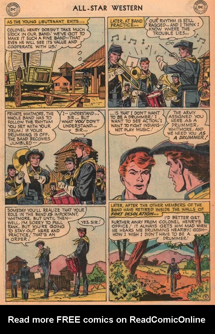 Read online All-Star Western (1951) comic -  Issue #87 - 20