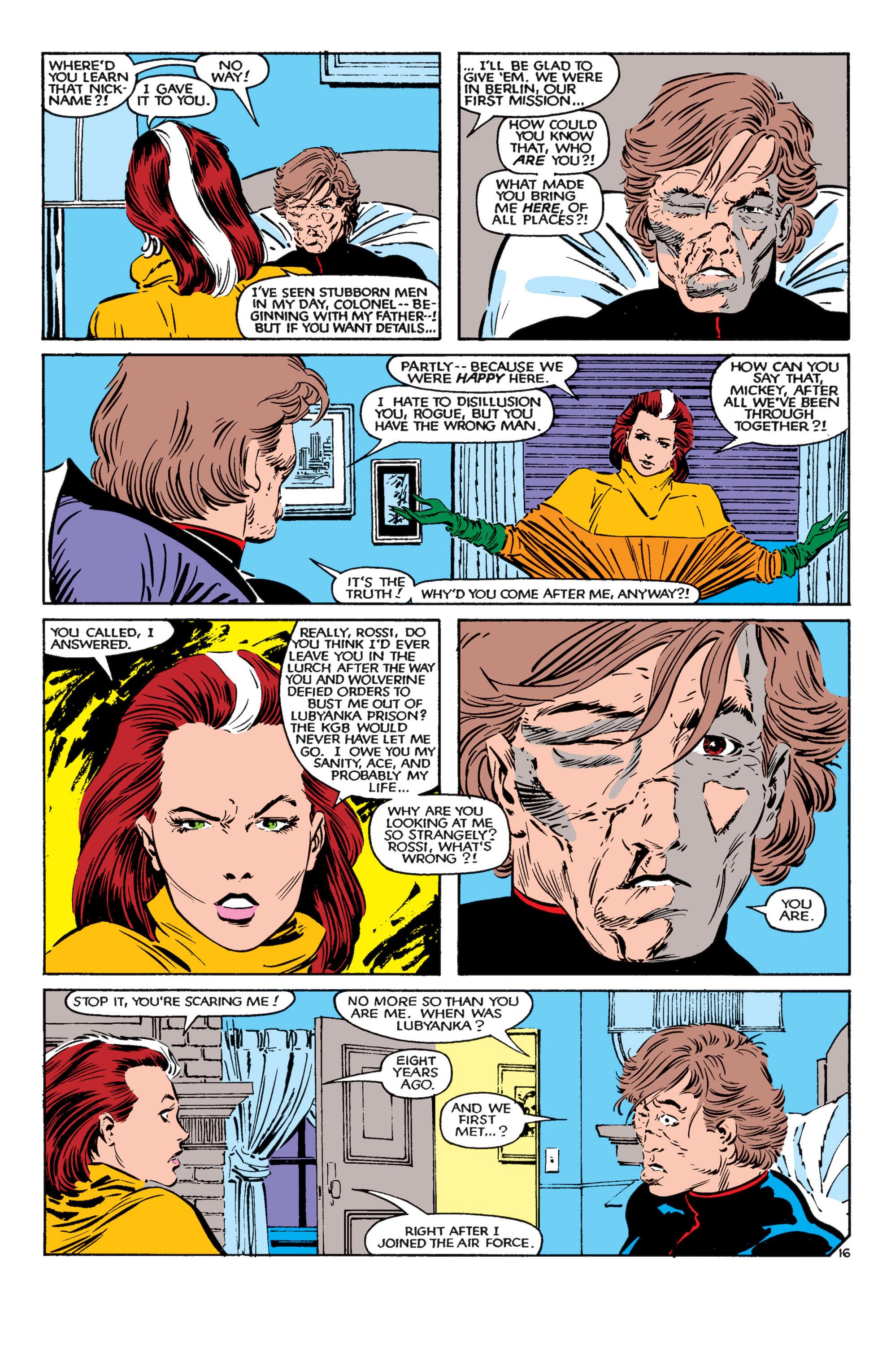 Read online Uncanny X-Men (1963) comic -  Issue #182 - 17