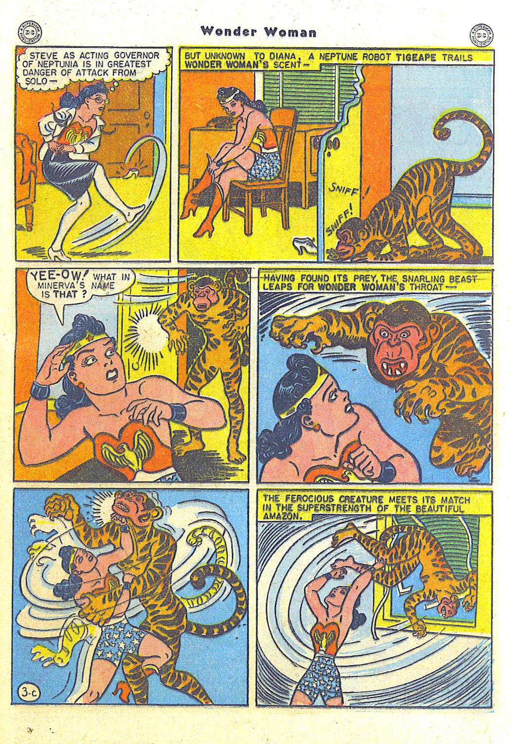 Read online Wonder Woman (1942) comic -  Issue #15 - 37