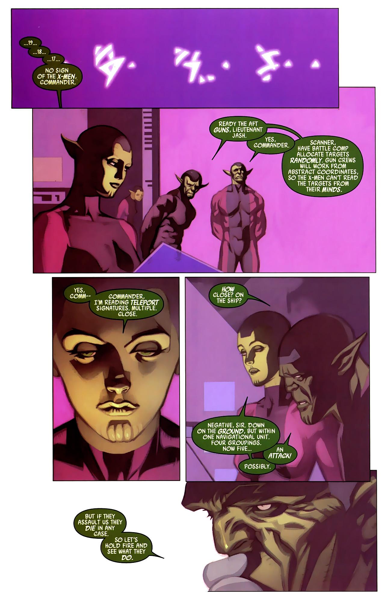 Read online Secret Invasion: X-Men comic -  Issue #4 - 9