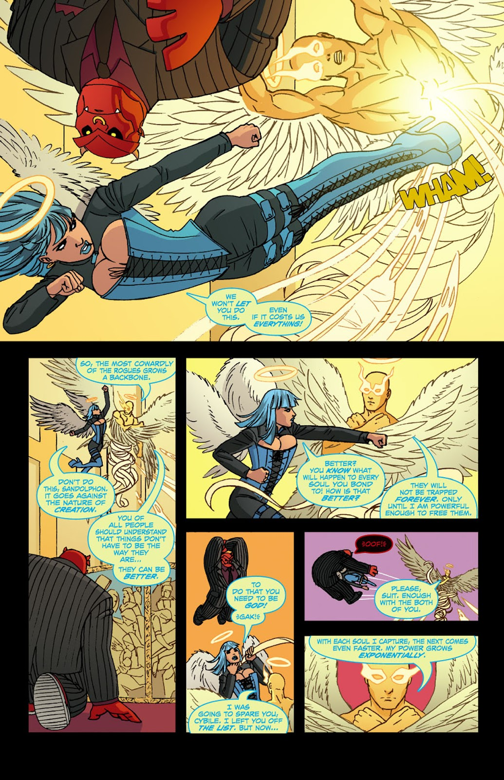 Read online Mercy Sparx (2008) comic -  Issue #4 - 14
