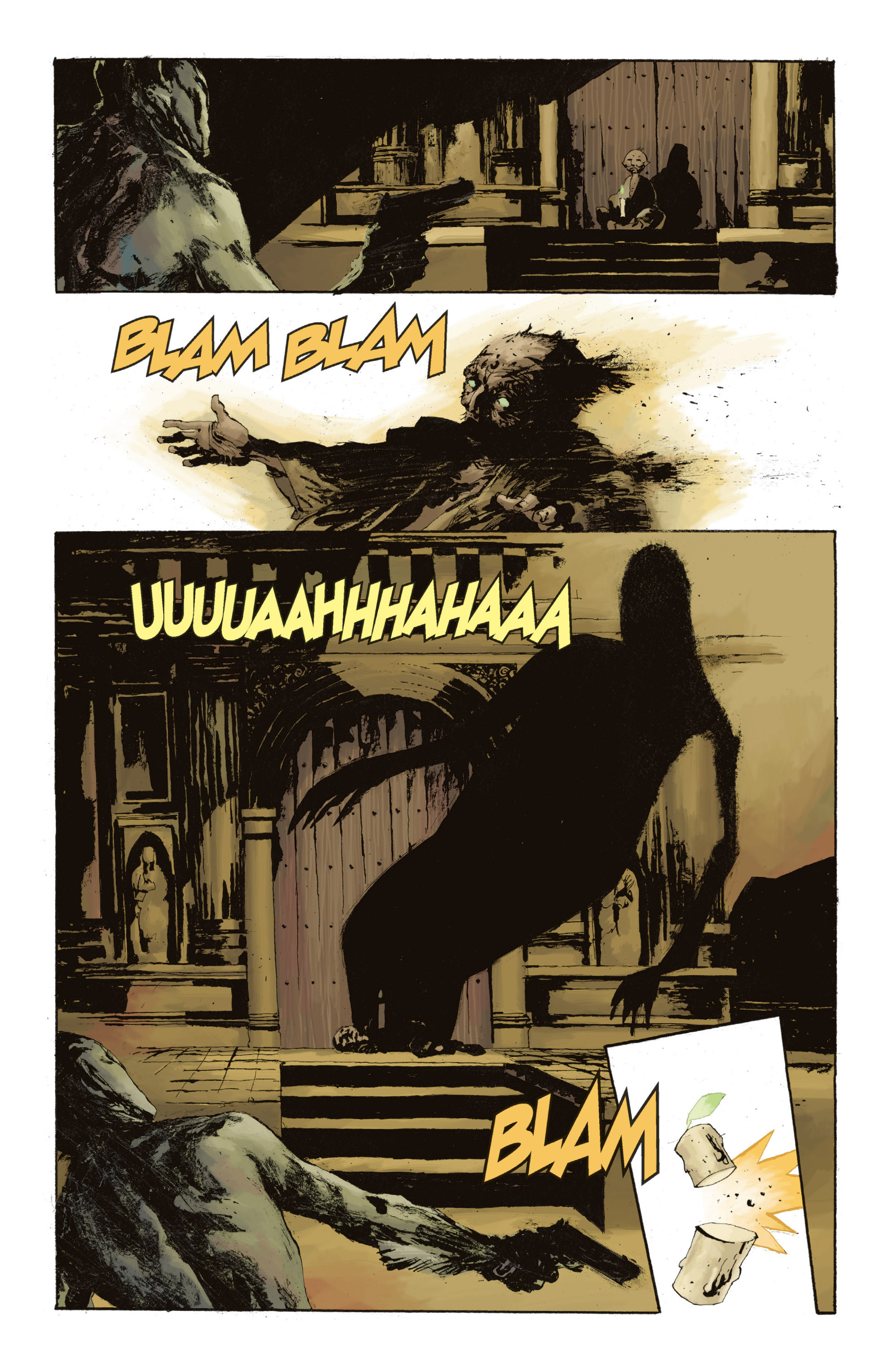 Read online Abe Sapien: The Drowning comic -  Issue #Abe Sapien: The Drowning _TPB - 118