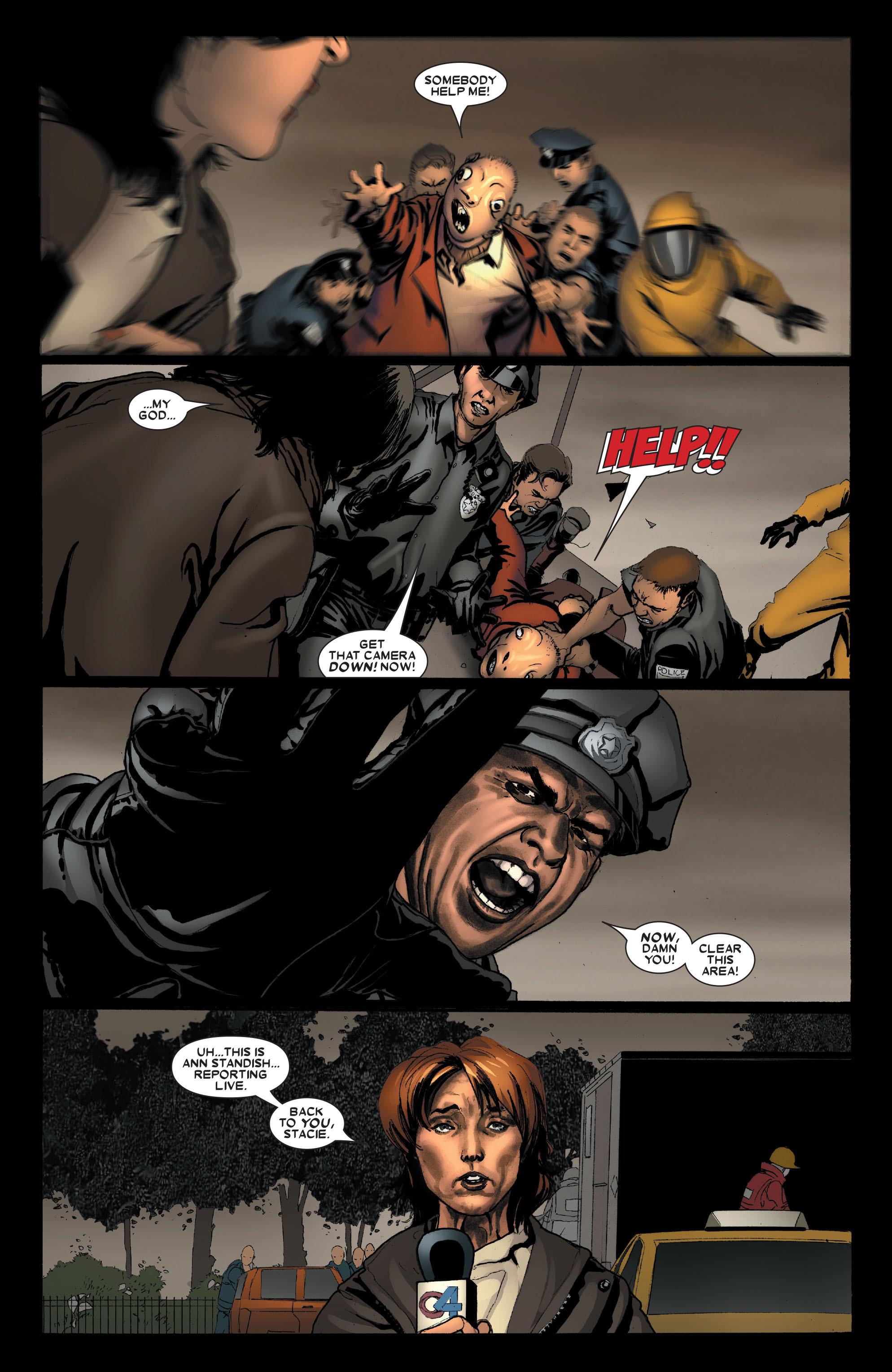 Read online Uncanny X-Men (1963) comic -  Issue #489 - 4