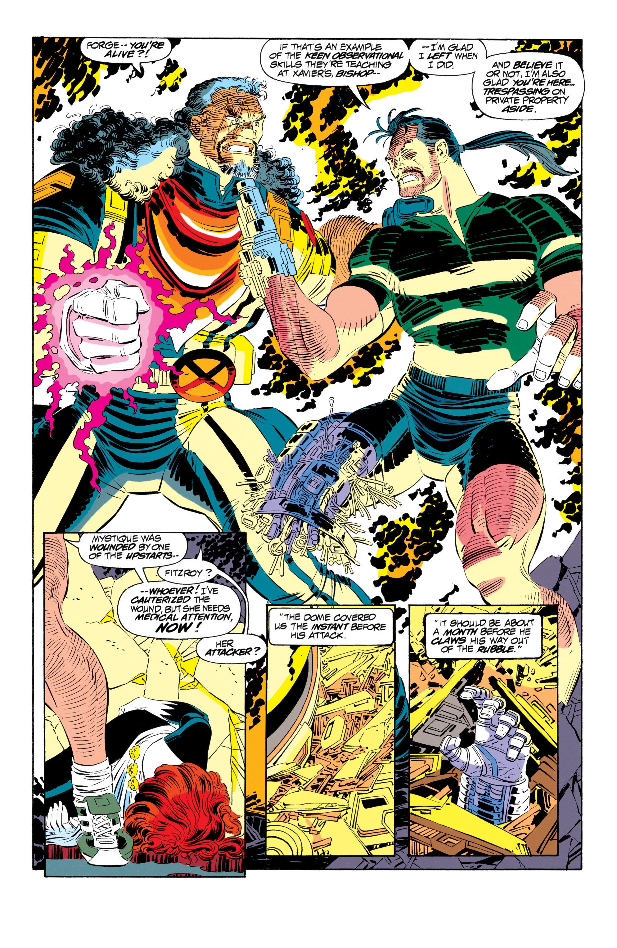 Read online Uncanny X-Men (1963) comic -  Issue #302 - 11