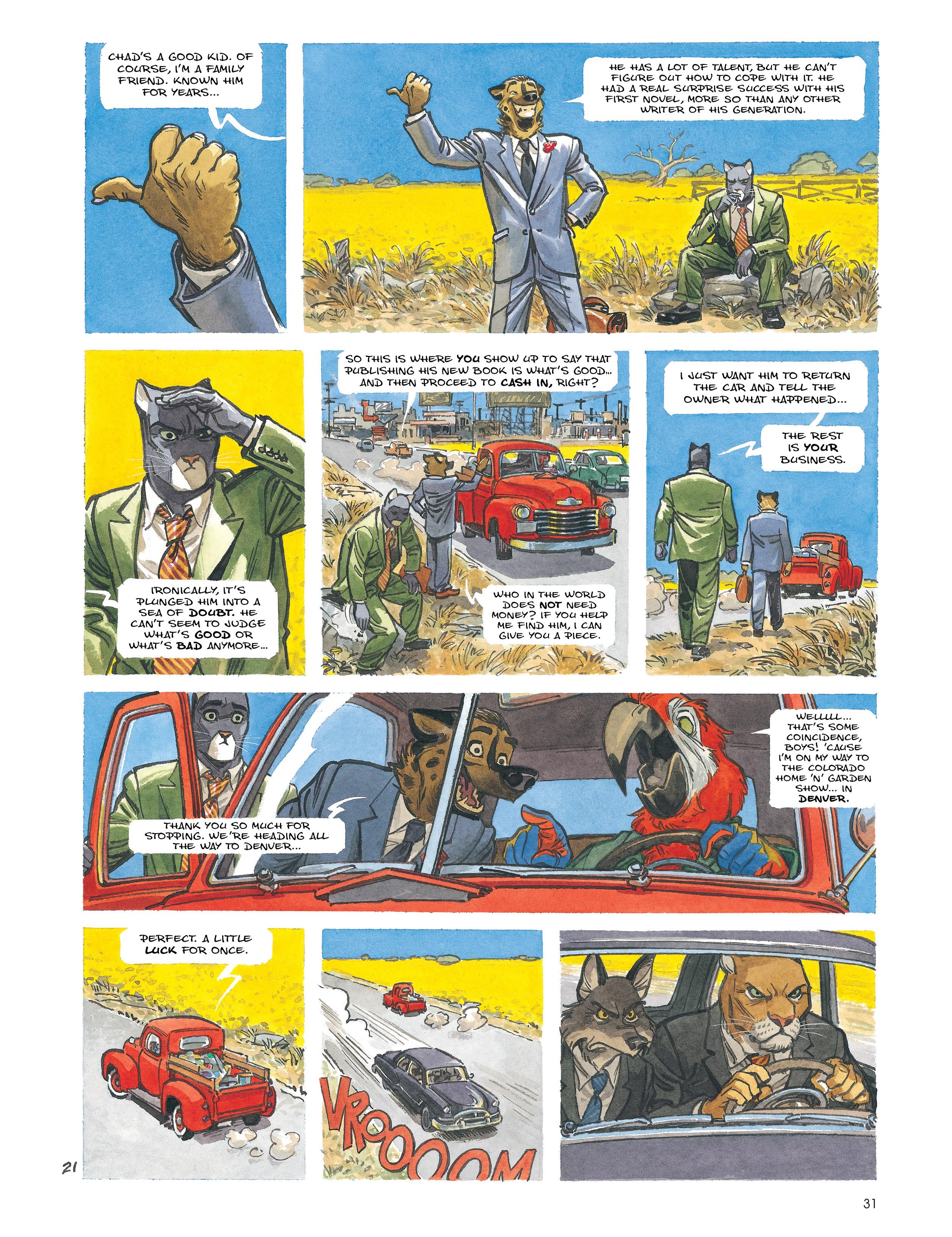 Read online Blacksad: Amarillo comic -  Issue # Full - 30