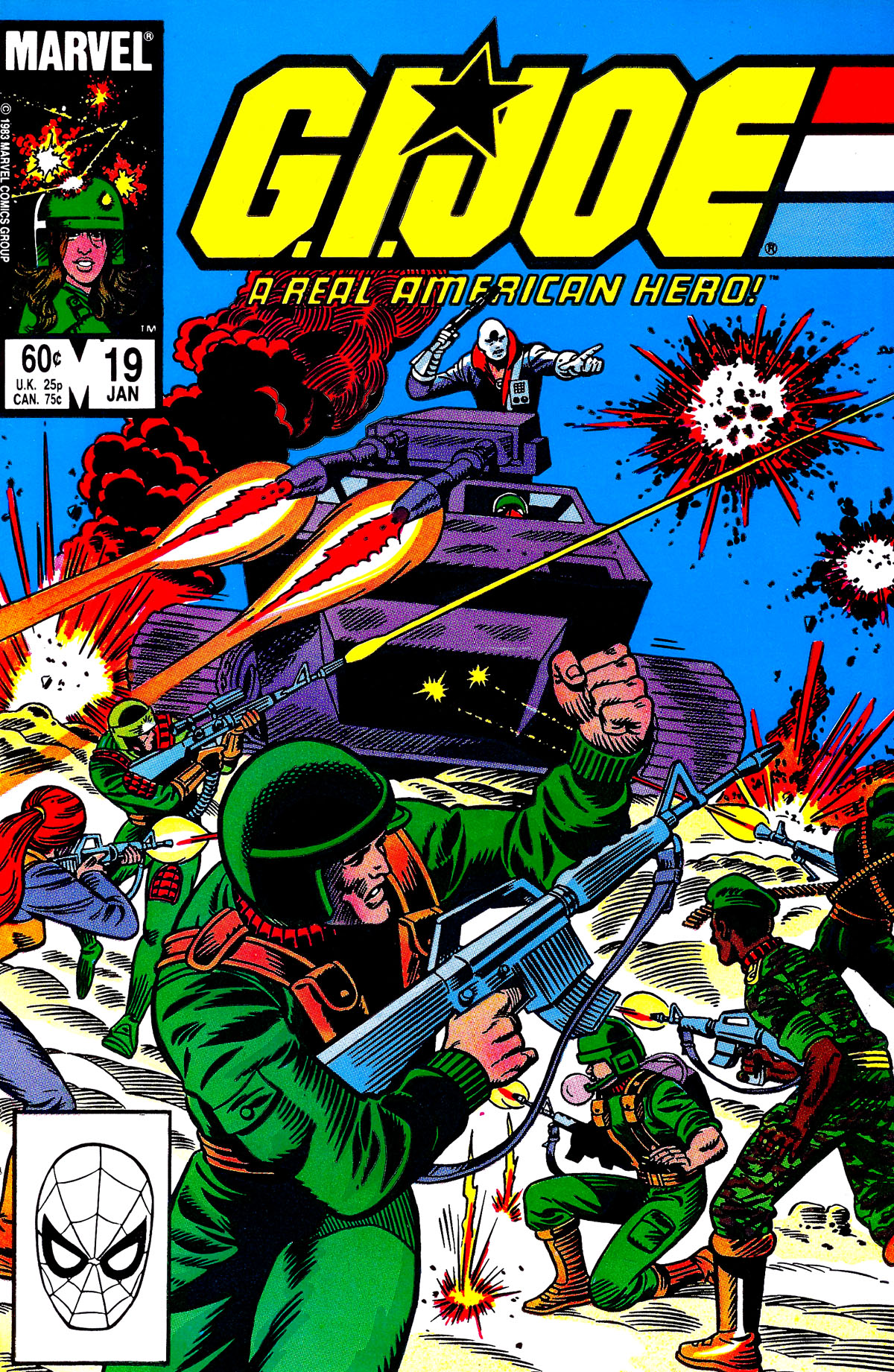 G.I. Joe: A Real American Hero 19 Page 1