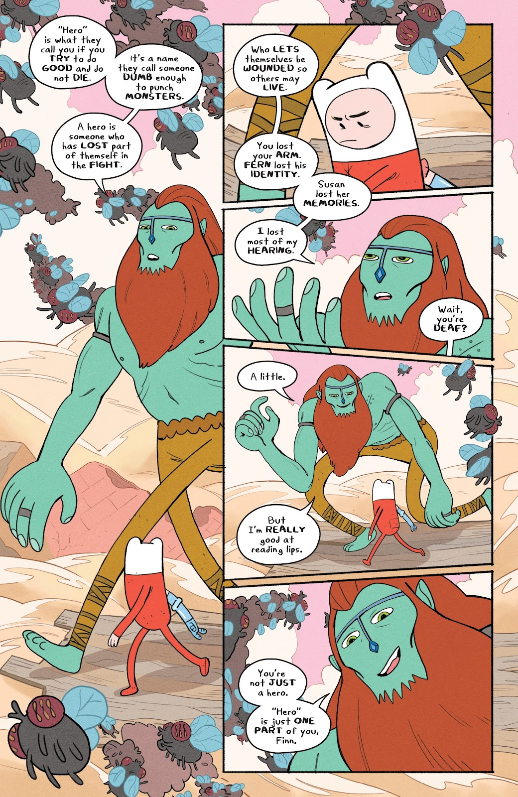 Read online Adventure Time: Beginning of the End comic -  Issue # _TPB - 46
