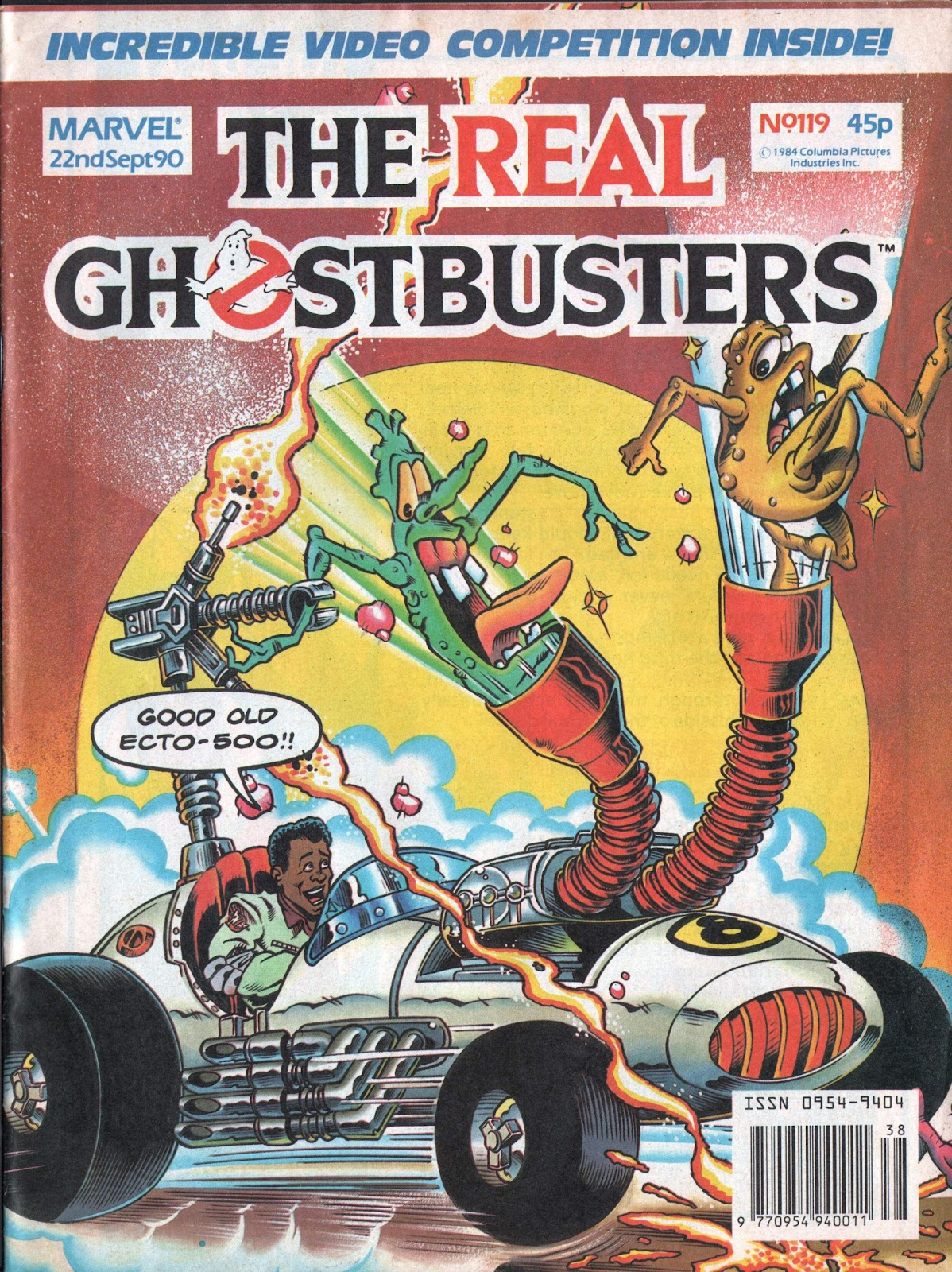 The Real Ghostbusters 119 Page 1