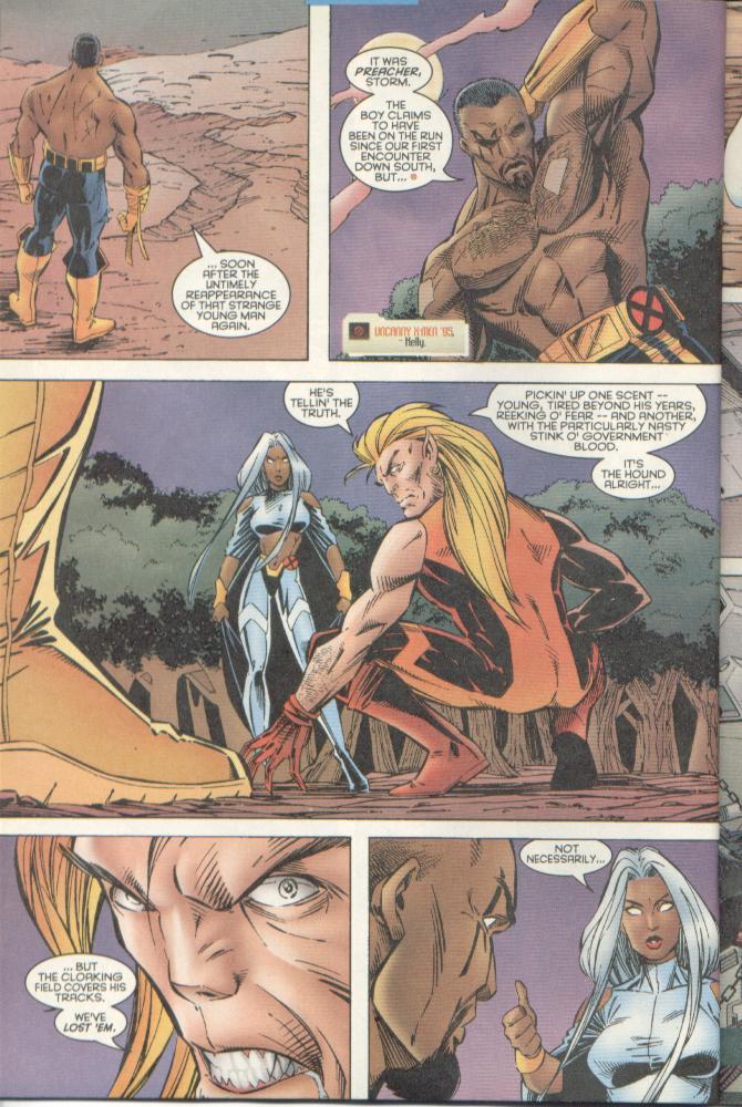 Read online Uncanny X-Men (1963) comic -  Issue # _Annual 1996 - 29