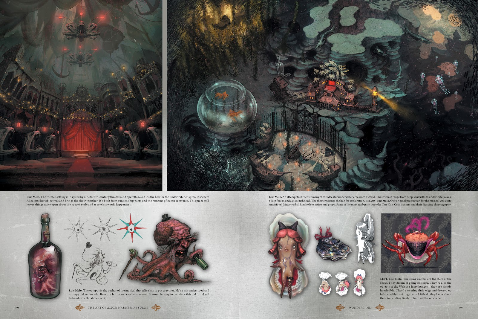 Read online The Art of Alice: Madness Returns comic -  Issue # TPB (Part 2) - 7