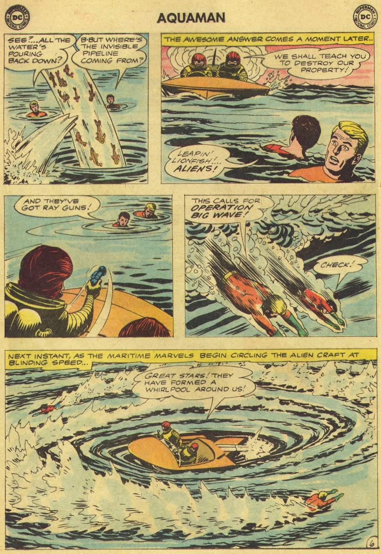 Read online Aquaman (1962) comic -  Issue #8 - 8