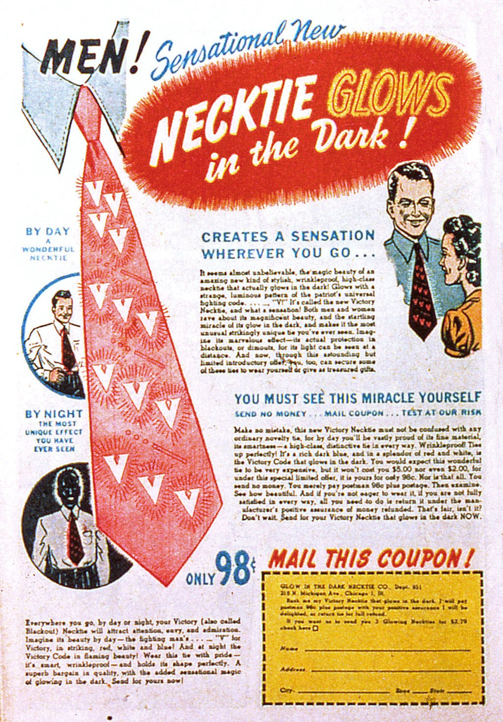 Read online Mystic Comics (1944) comic -  Issue #2 - 50