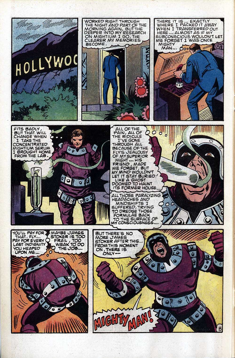 Read online The Fly (1983) comic -  Issue #4 - 10