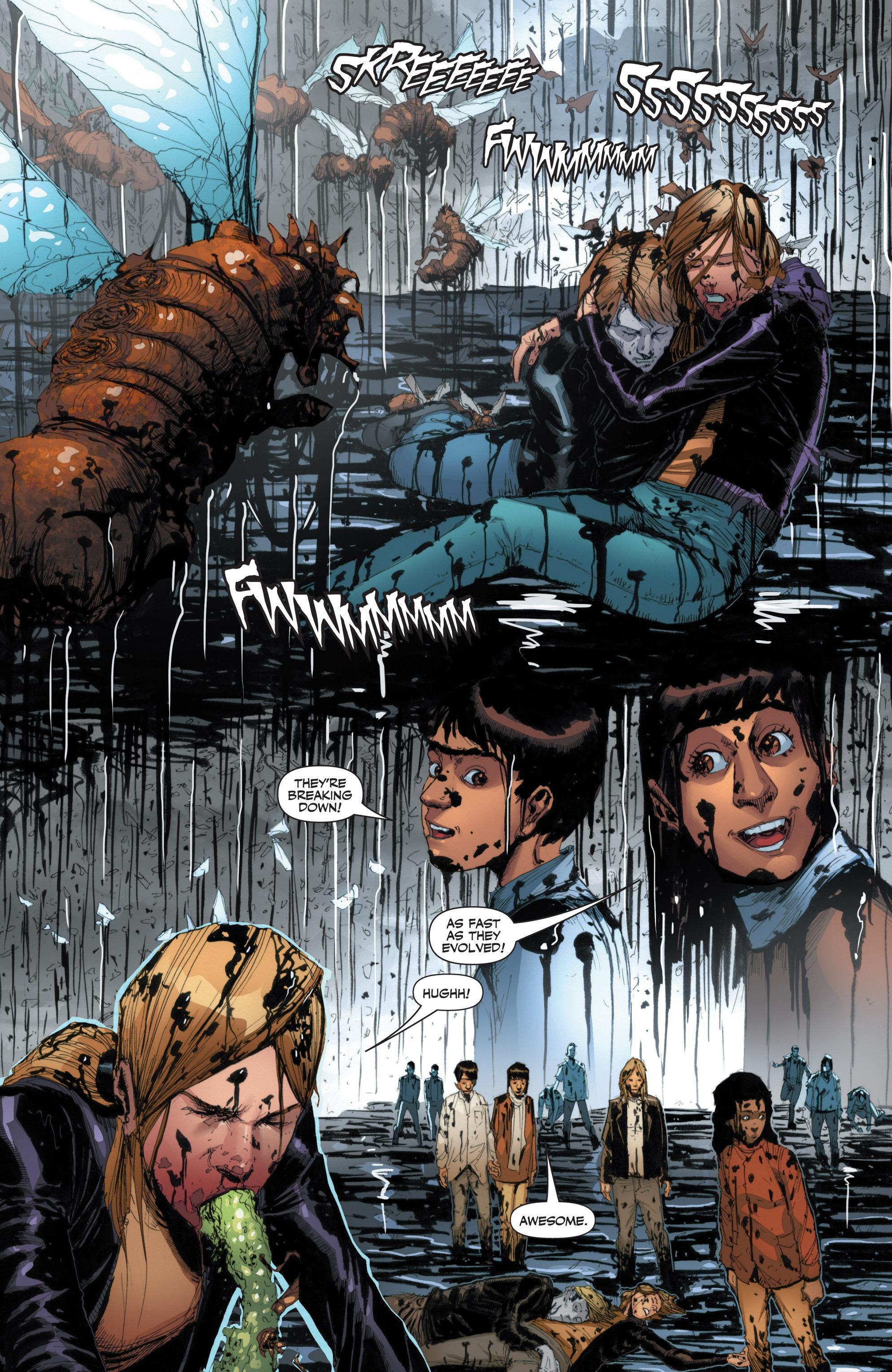 Read online Armor Hunters: Harbinger comic -  Issue # TPB - 72