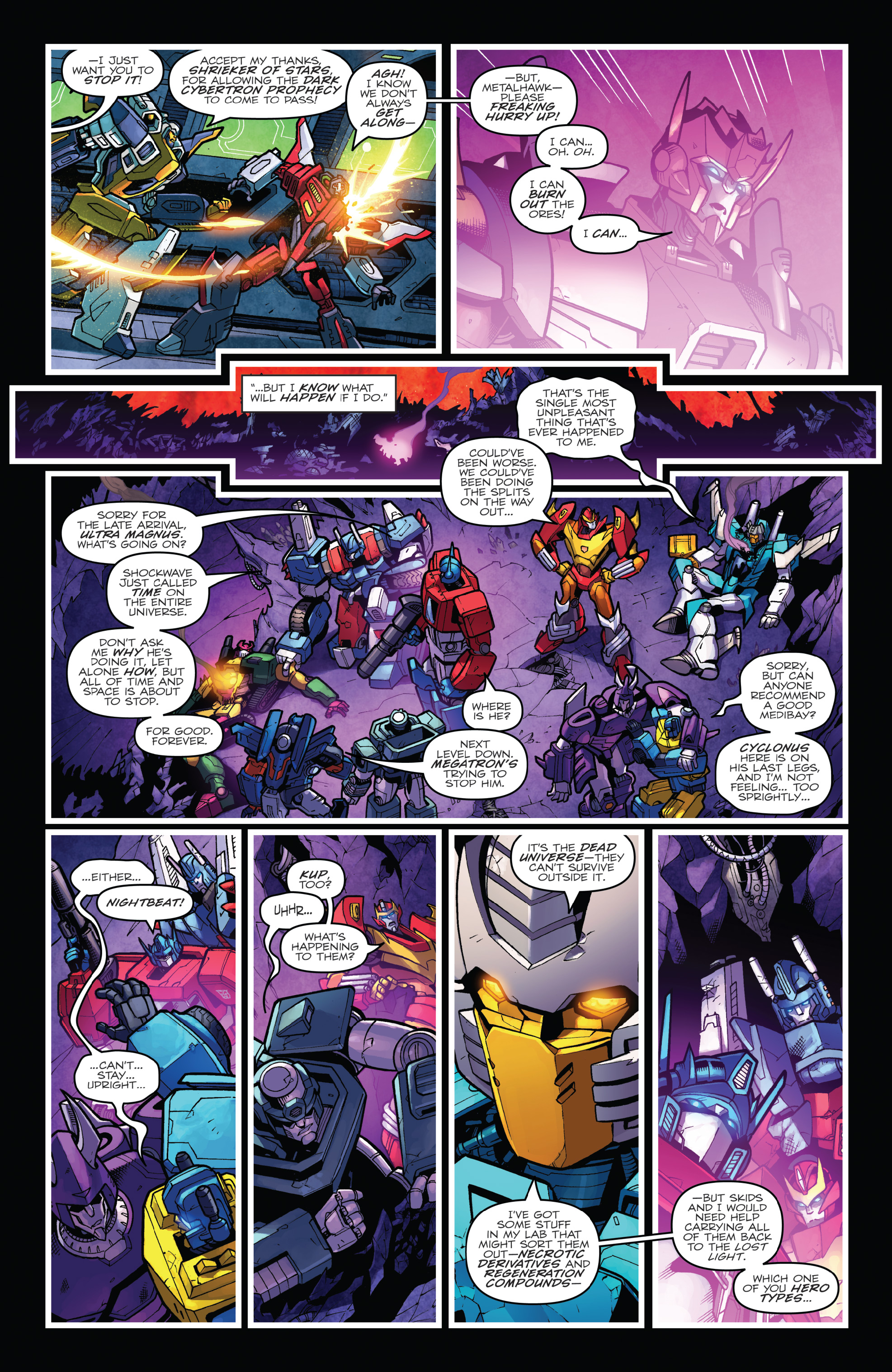 Read online The Transformers: Dark Cybertron Finale comic -  Issue # Full - 129