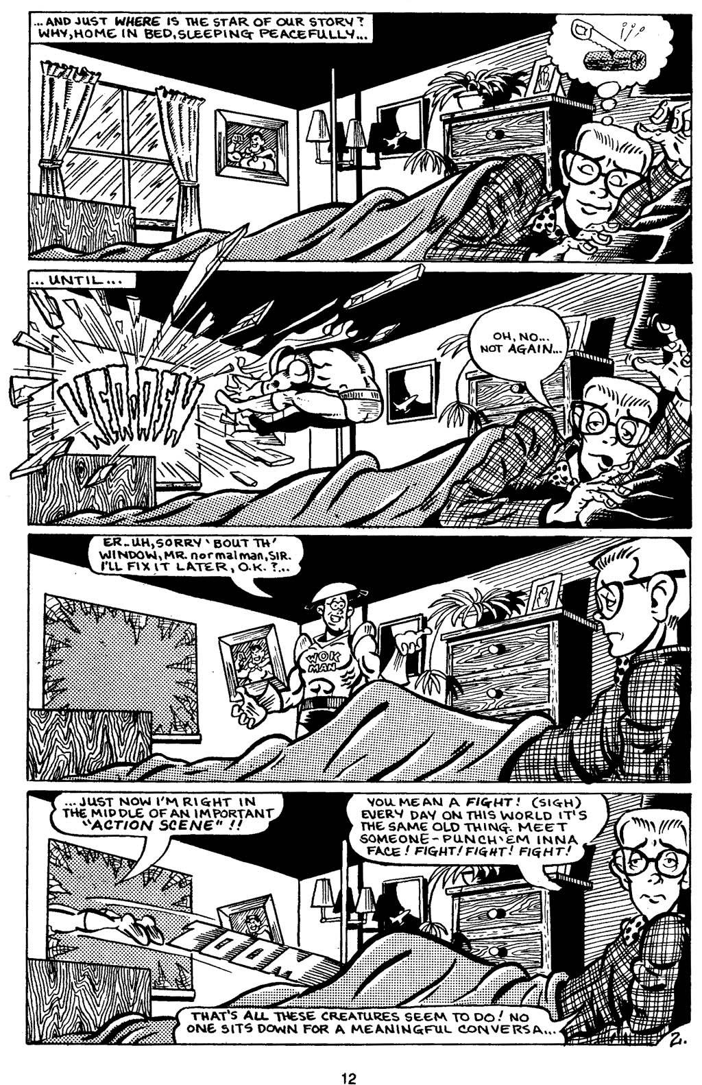 Read online Normalman - The Novel comic -  Issue # TPB (Part 1) - 17