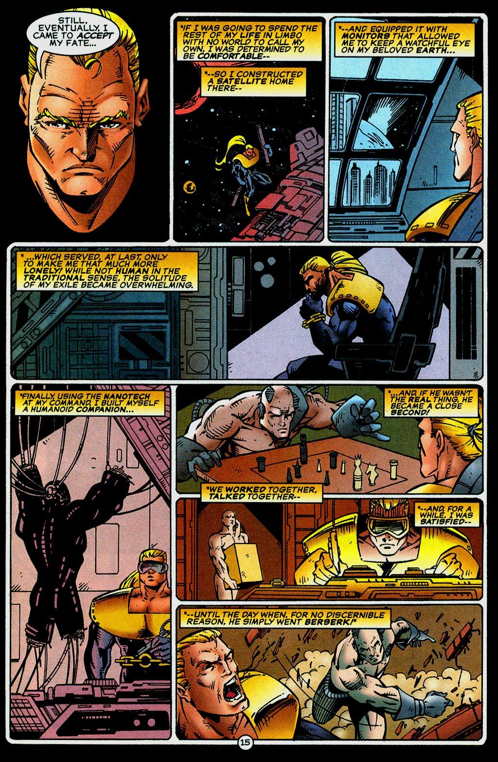Read online UltraForce (1995) comic -  Issue #14 - 15