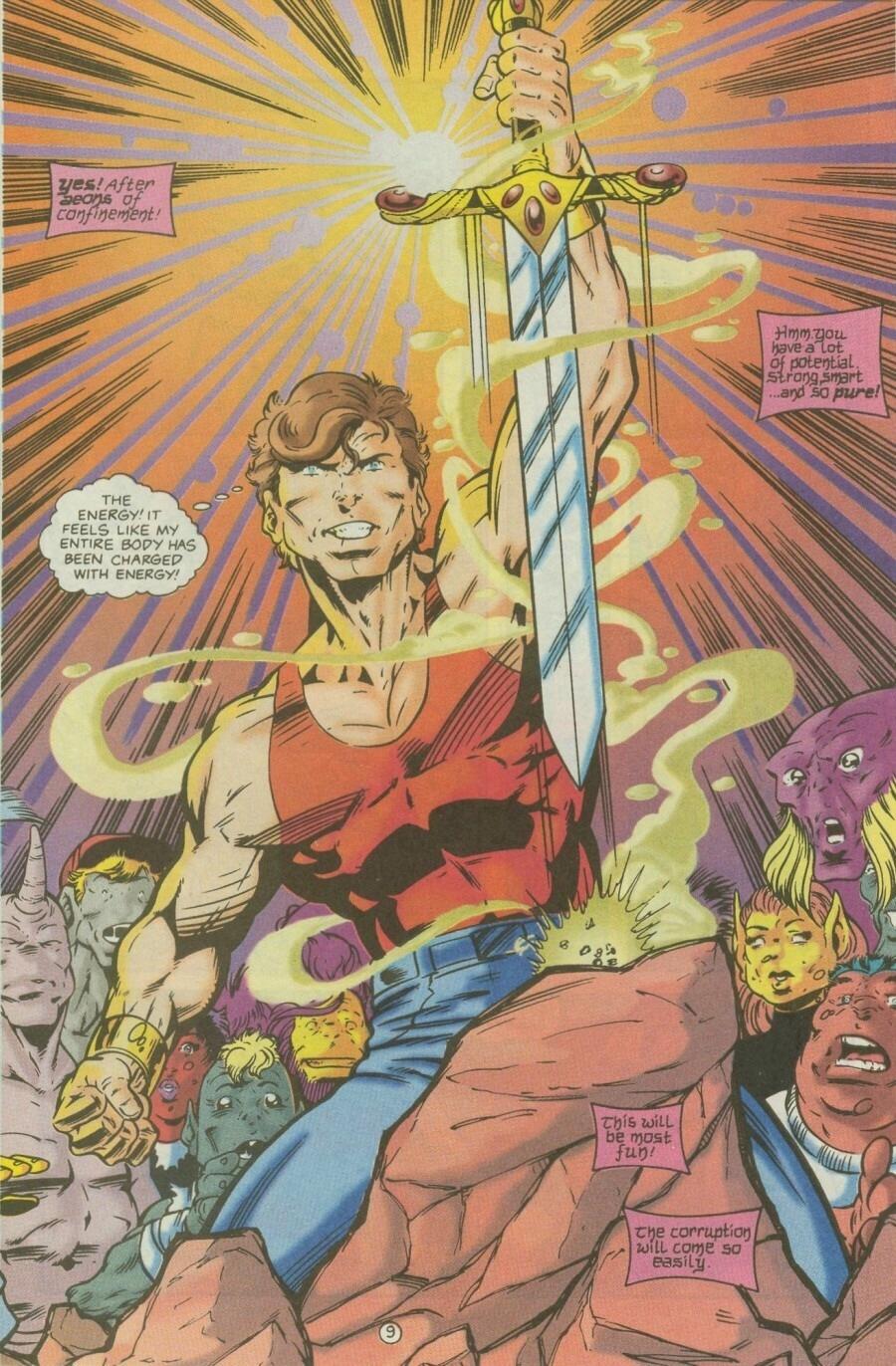 Read online Ex-Mutants comic -  Issue #9 - 13